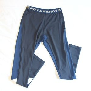 GIII 4Her Georgetown Hoyas WMNS Long Leggings Sz M